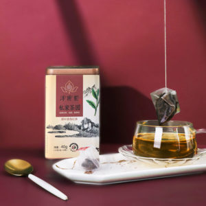 hong cha black tea pyramid bag