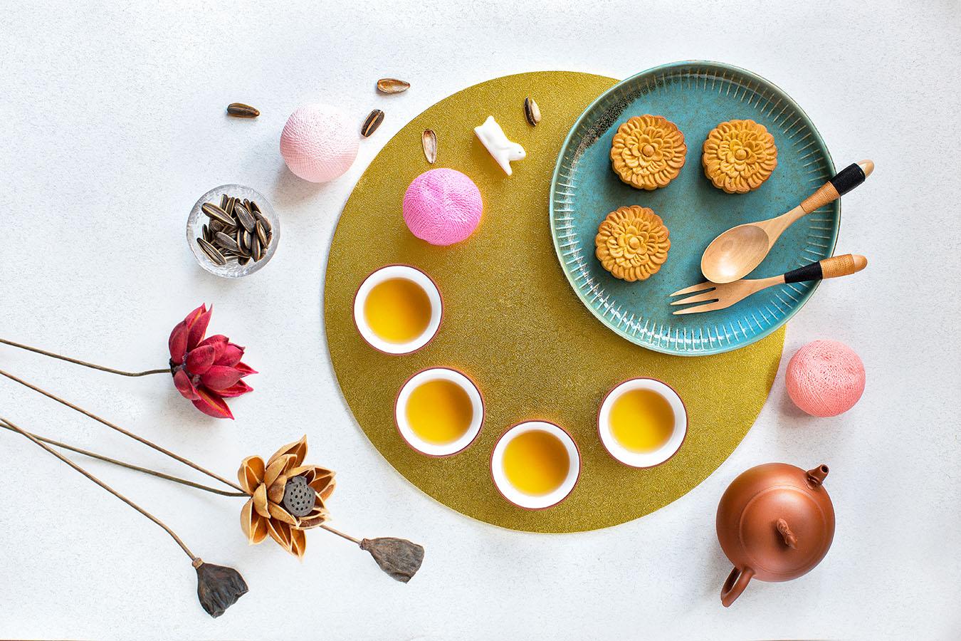mooncake and tea pairing