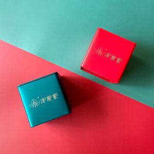 Assorted organic tea tin
